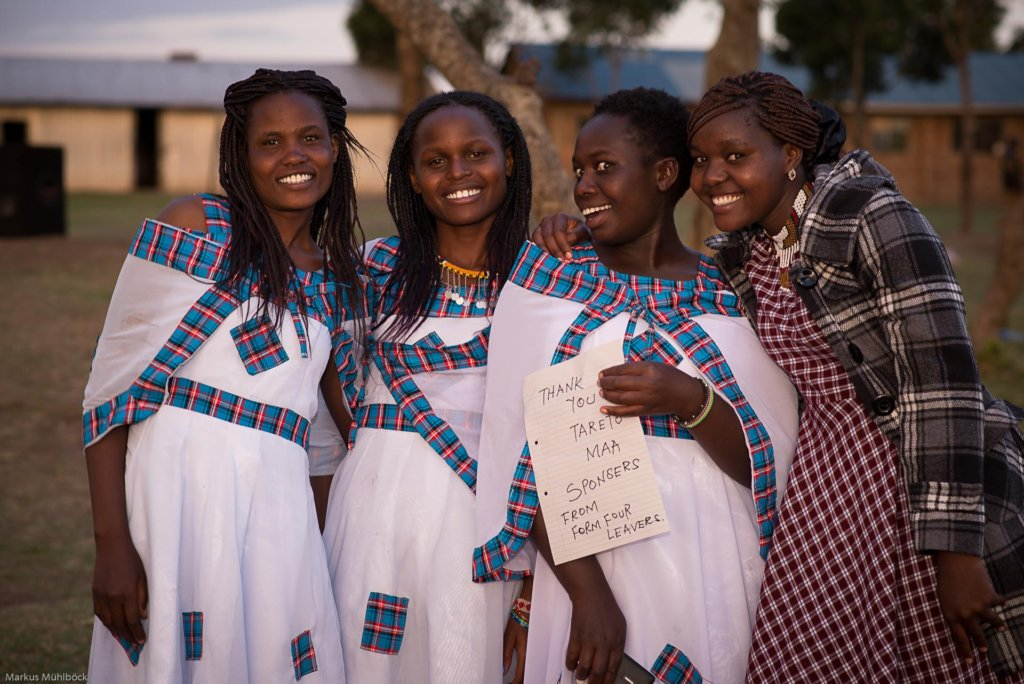 Tareto Maa Girls finished High School