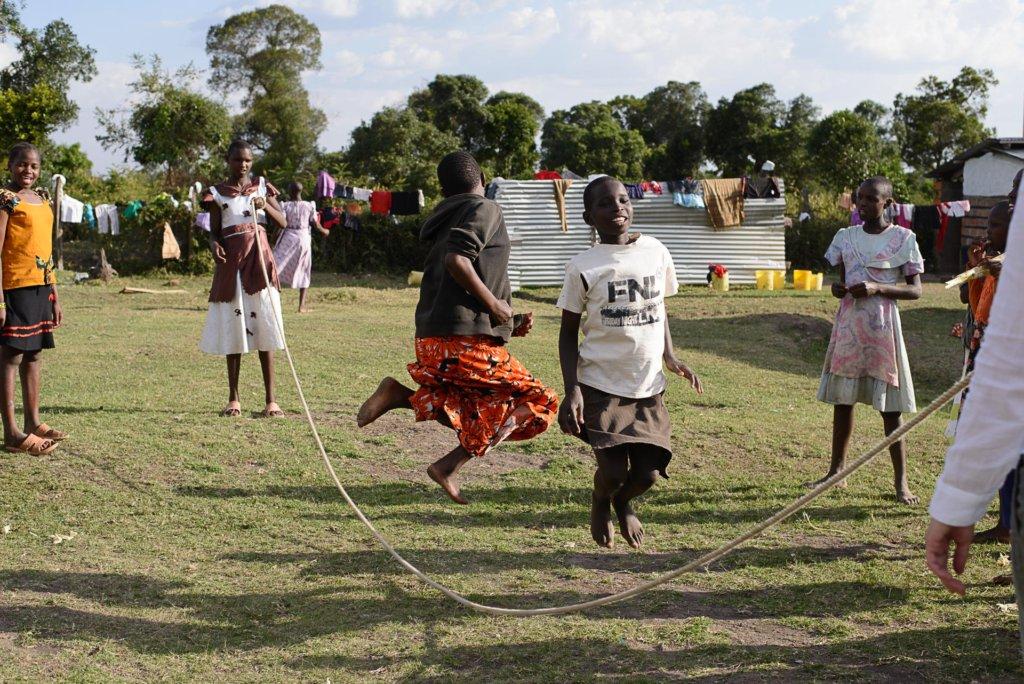 Play time at Tareto Maa