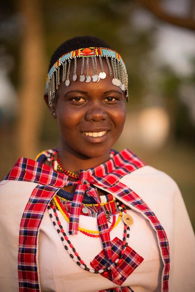 Tareto Maa Maasai Girl