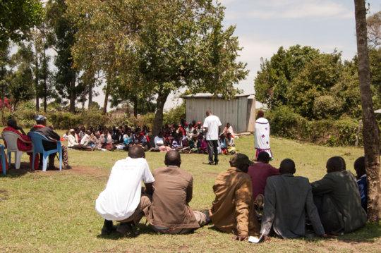 Maasai Elders meeting