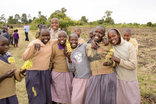 Protect 122 girls from genital mutilation in Kenya