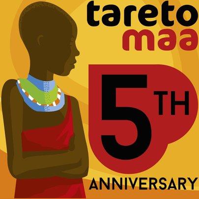Tareto Maa, Anniversary Logo