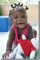 6 months of clean water, food and love!