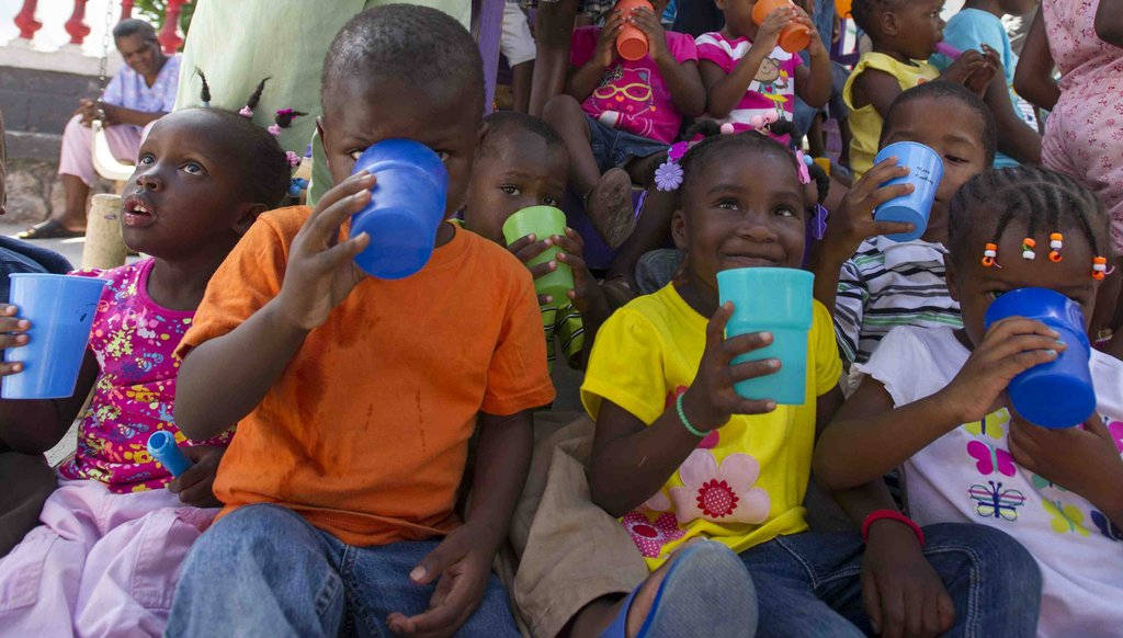 Clean Water for Haitian Children at GLA