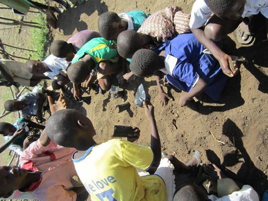 Children at Circle of Hope in Kunya Village