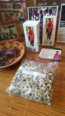 Seeds sent to the Village Volunteers office