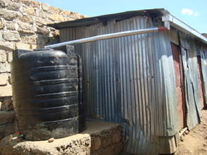 Rain water harvesting system.