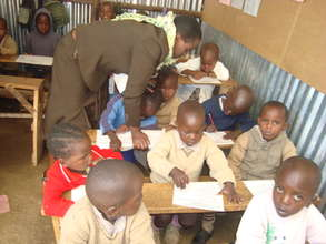 Pupils taking Exams.
