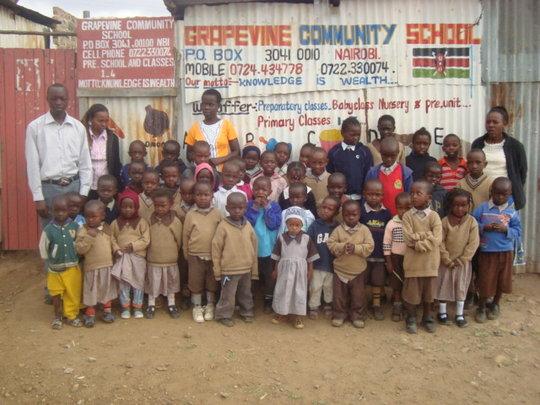 SEND 100 PUPILS TO SCHOOL IN SEWAGE SLUM- NAIROBI