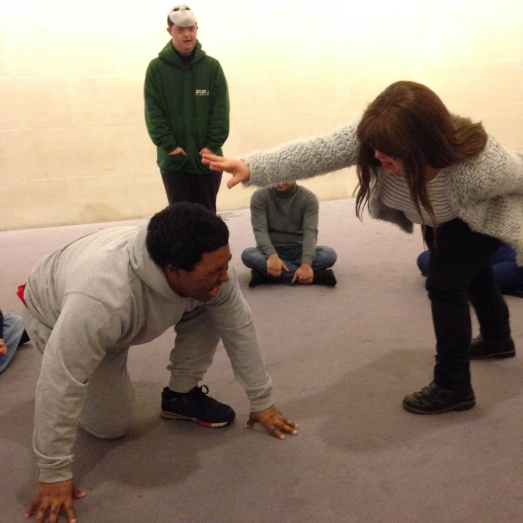 Theatre show rehearsals