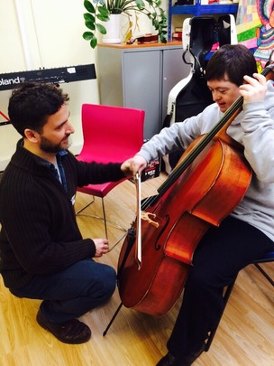 A cello masterclass from the RPO