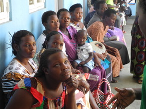 Women waiting to see the doctor.