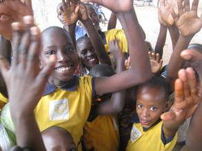 ChangeALife Uganda students at St. Lawrence School