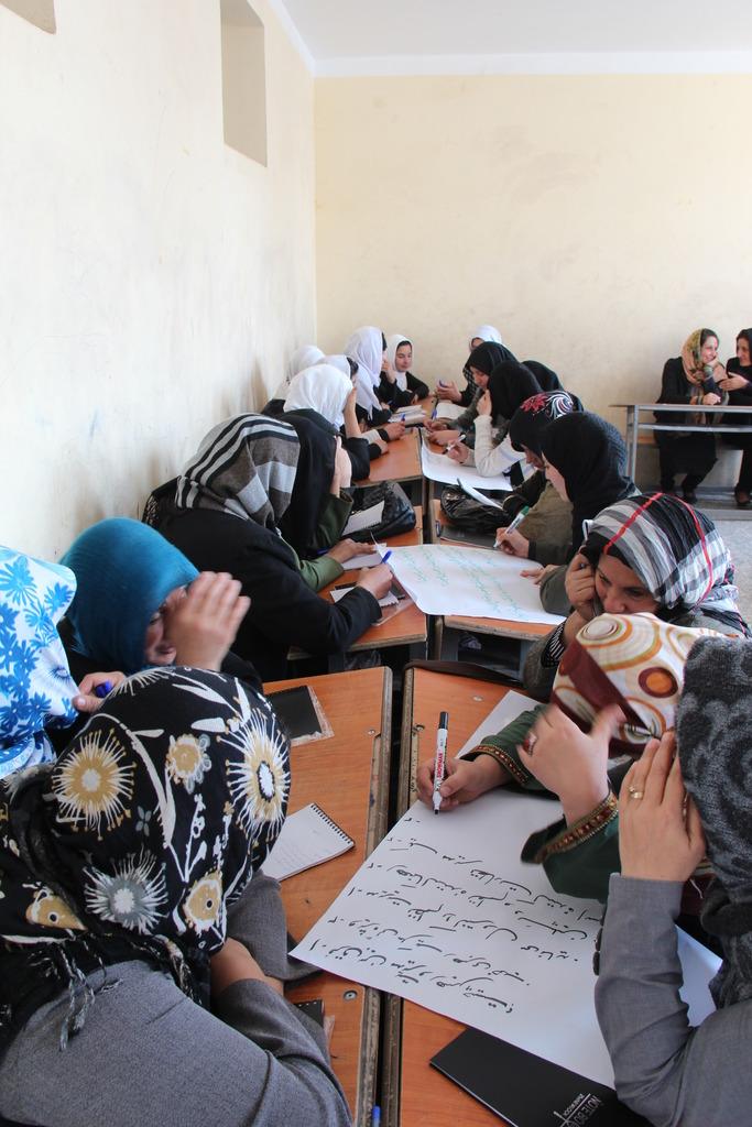 Women in a workshop