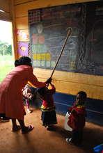 Nursery 1 kids in class