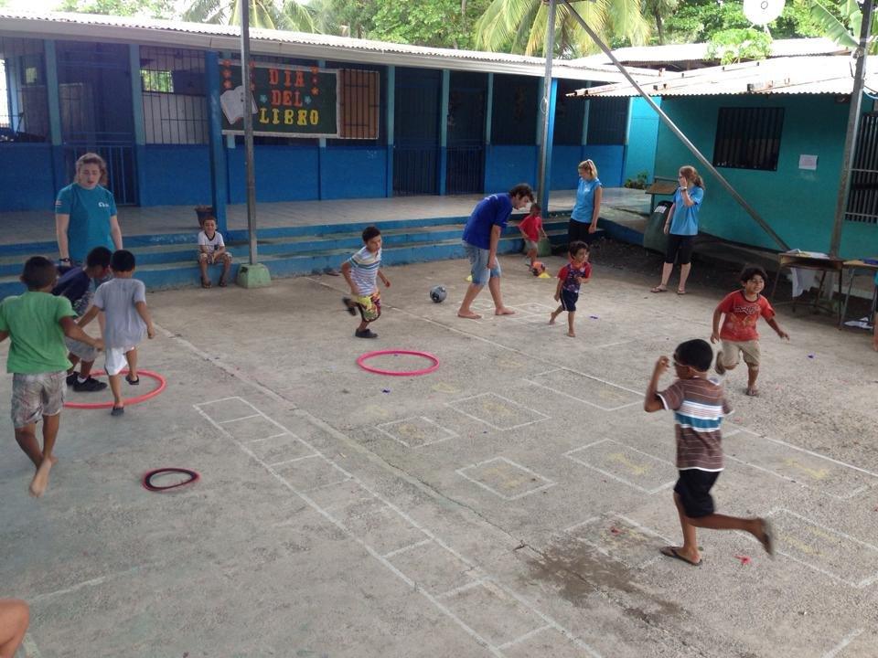 Fun and games at camp!