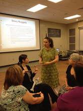 Arianna Ross professional development session
