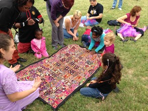 Sharing the story of the tapestry