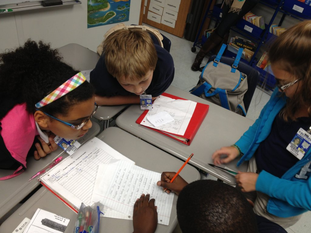 Learning to write collaboratively