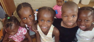 Some of the girls you have helped!