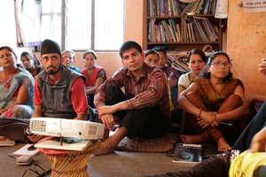 NGO training session in rural Nepal