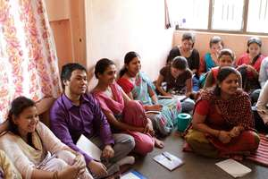 Training at rural NGO