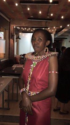 Lucy Ntayia, MGEF Director in Kajiado, Kenya