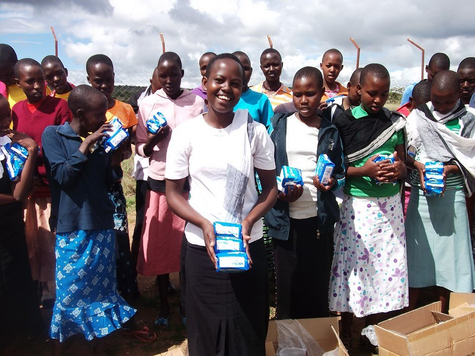 Alumni Group: Mentoring & Sanitary Pads Project