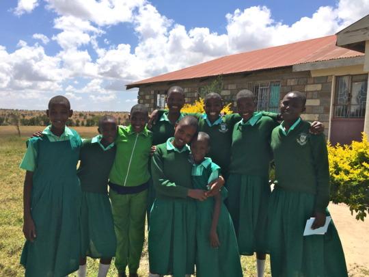 MGEF Students at School in Kajiado, Kenya