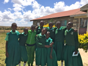 MGEF Students at School in Kajiado, Kenya
