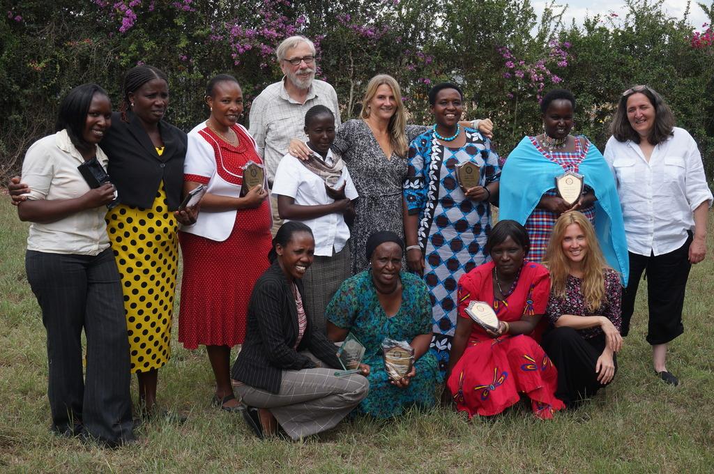 MGEF visits Kenya MGEF Kajiado staff and board