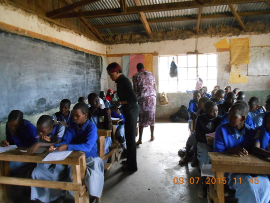 Girls Life Skills Workshop In Oltepesi Kenya