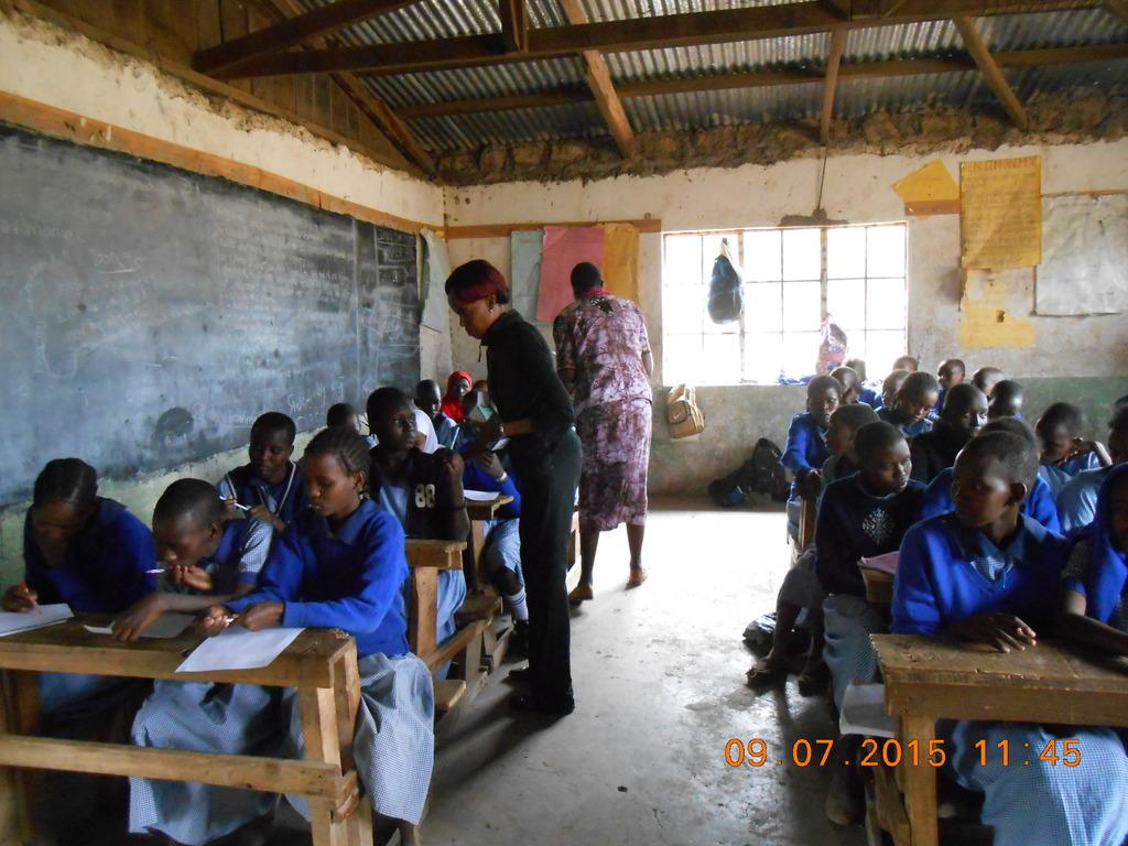 Girls Life Skills Workshop In Oltepesi Kenya