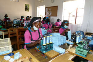 Factory where the pads are manufactured