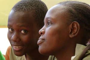 Kibera school girls