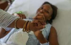DTF patient, Danisha, post surgery at CRH