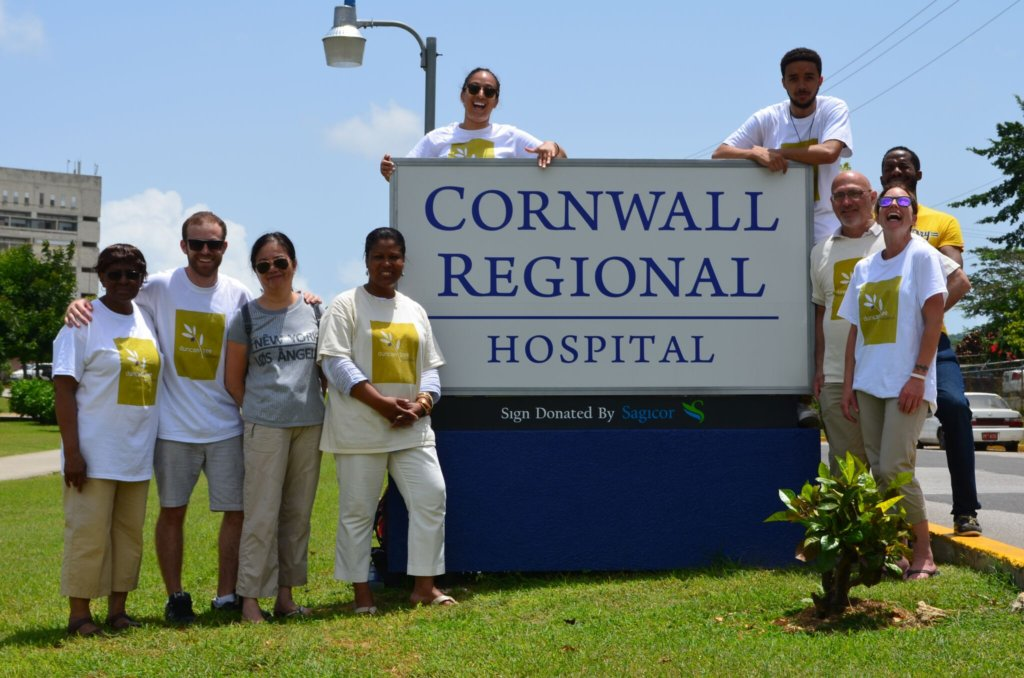 DTF June 2016 team at Cornwall Regional Hospital