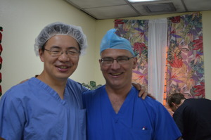 Dr. Lee and Dr. Paonessa at KPH 2014