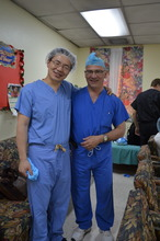 Dr. Mark Lee and Dr. Kenneth Paonessa at KPH