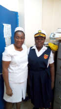 (L) Nurse Douglas (R) Tischelle Sutherland