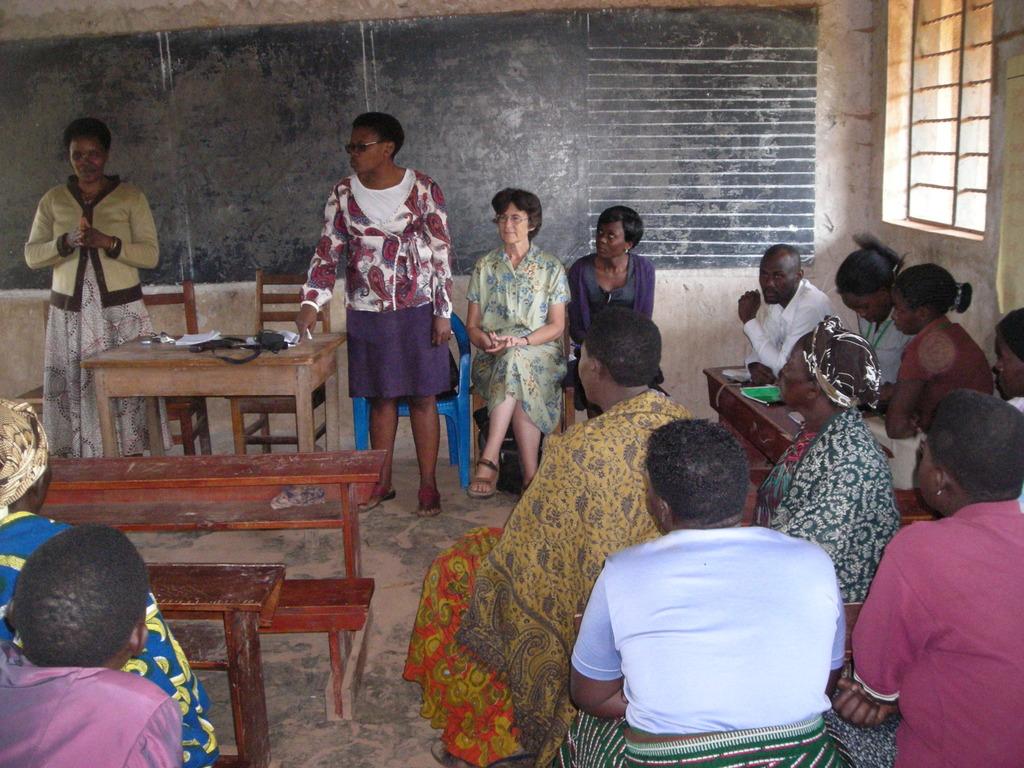 July - Team MCF hosts US visitors in Kabale