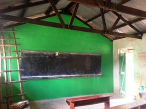 The painting goes on...this is Primary 4