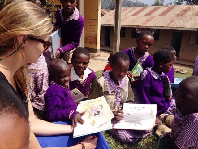 Reading to the children daily