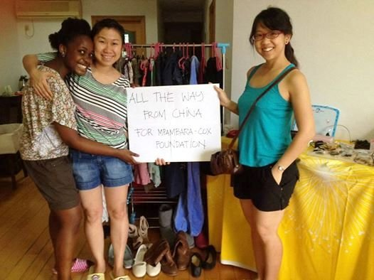 Also in July - Chinese students fund-raise for MCF