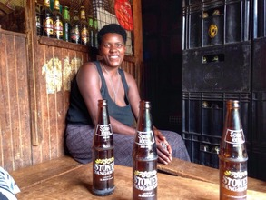 Olive in her business started with a microloan