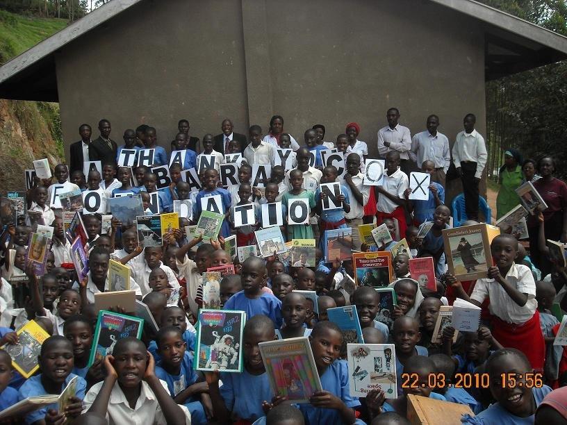 Children at Rushakyi Thank MCF