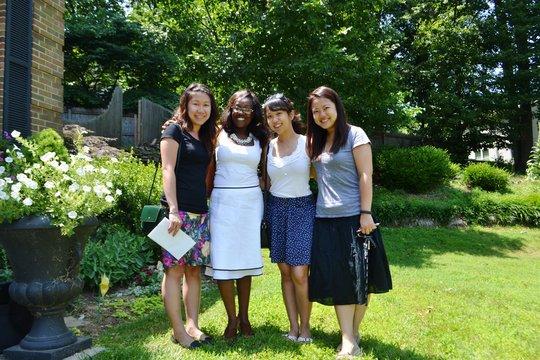 The Shanghai ladies visit US, meet MCF president