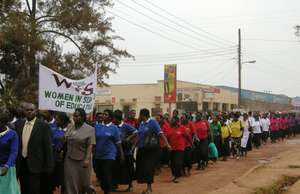 WISE women march through Kabale town
