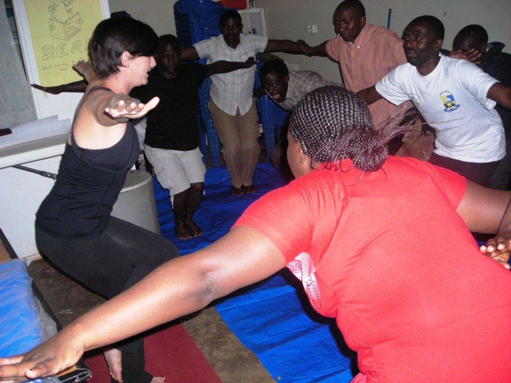 Sep - Yoganda (Yoga-Uganda), partners with MCF