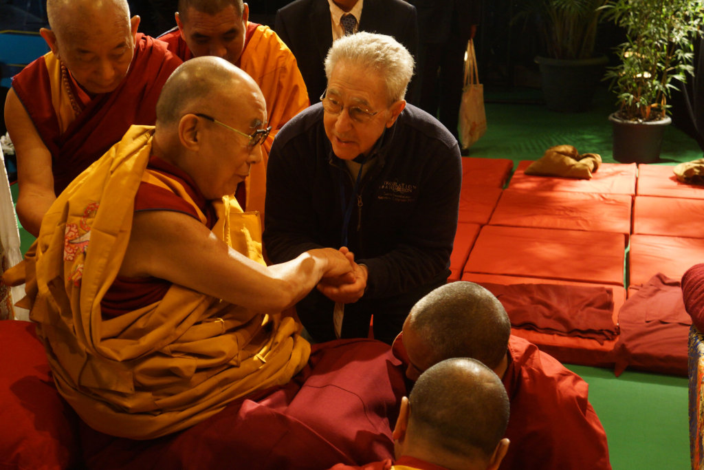 Consulting with the Dalai Lama